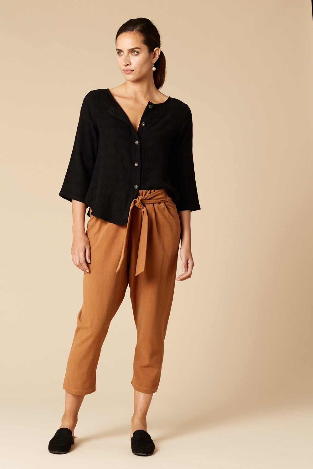 Stella Slouch Camel Pants