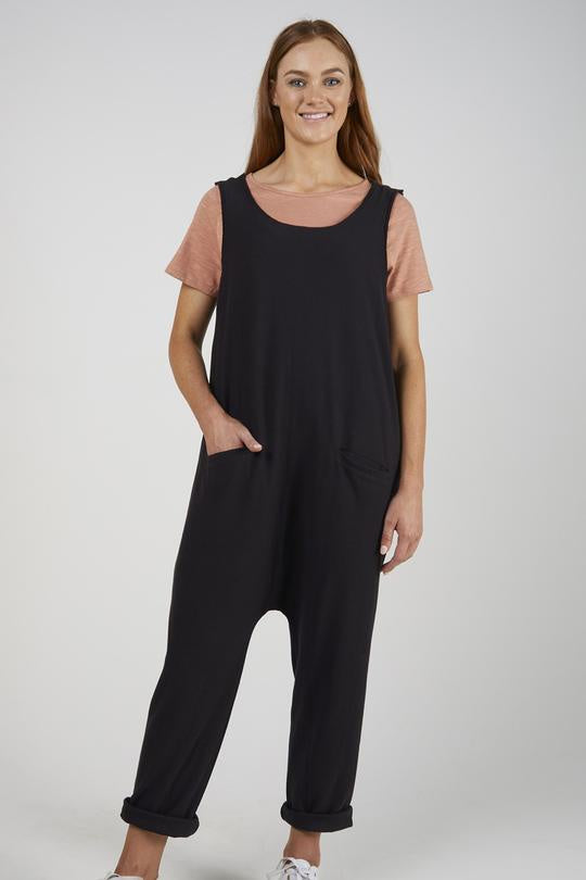 Black Jumpsuit Cotton