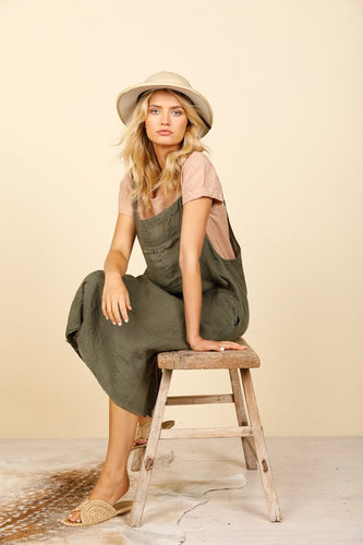 Yonder Pinafore Jungle Green