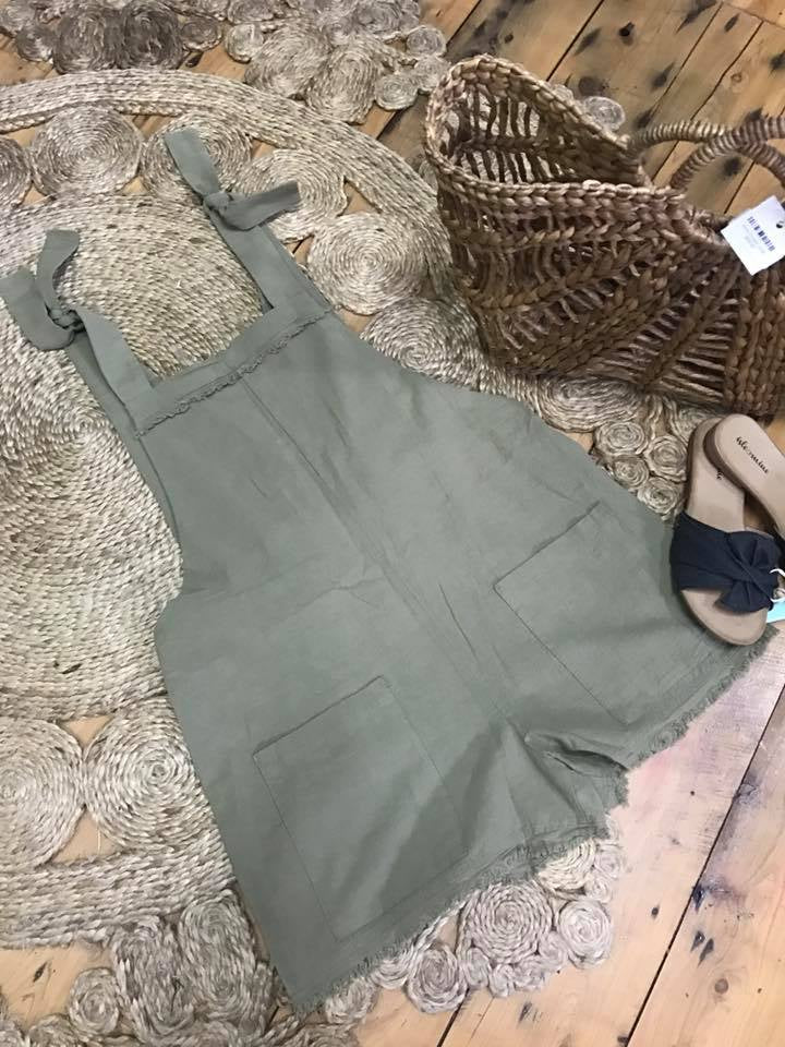 Olive Playsuit