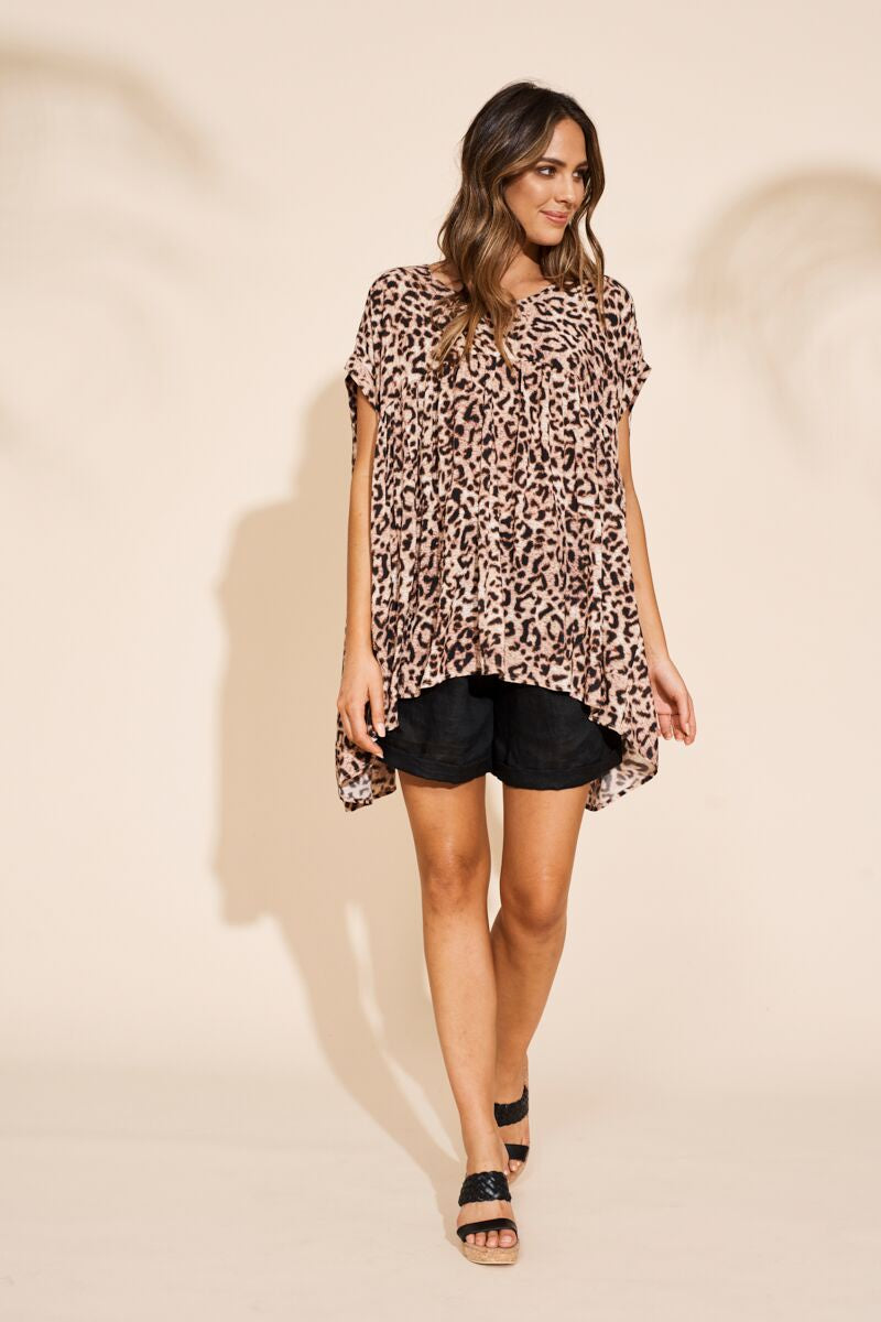Savannah Top Leopard