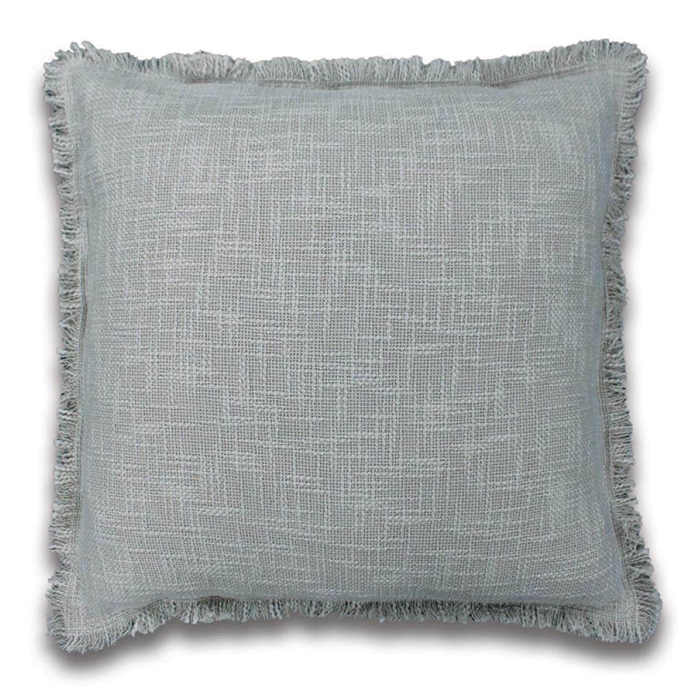 Heathcote Cushion in Grey/Blue 50cm