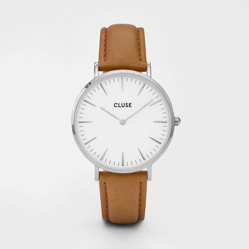 Cluse Watch Caramel Leather