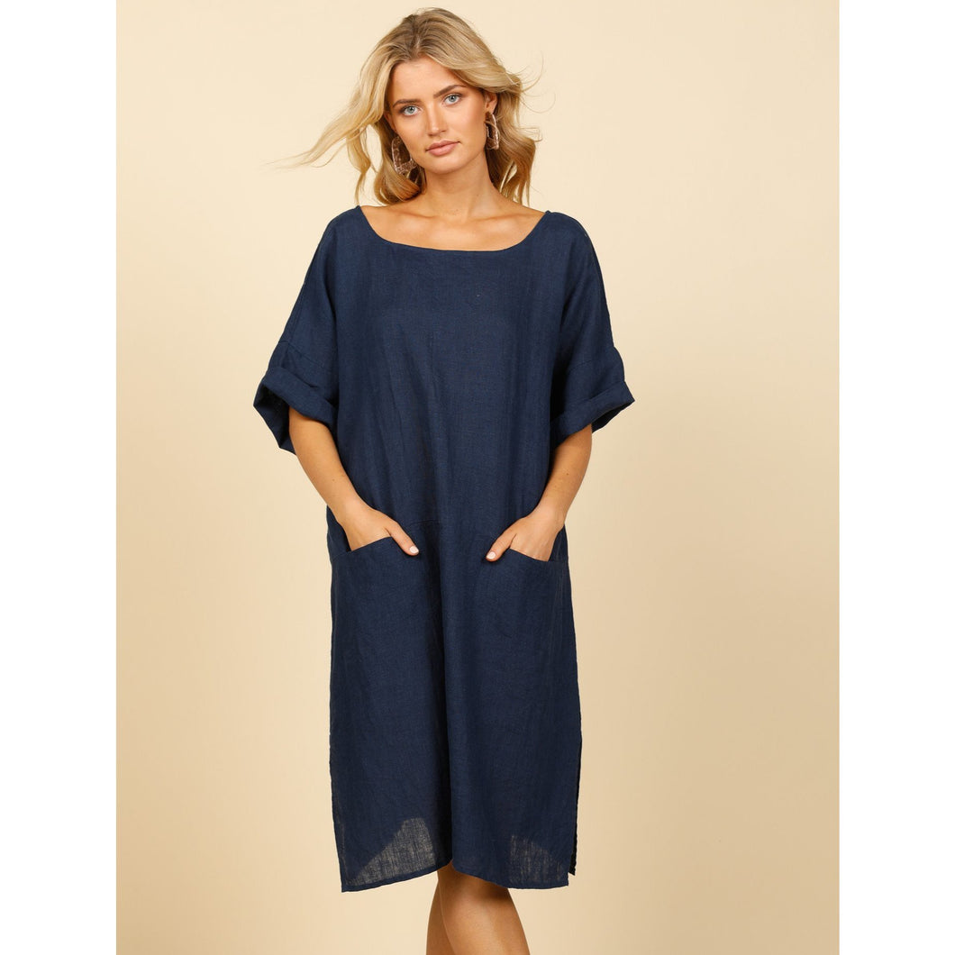 Morico Dress Navy