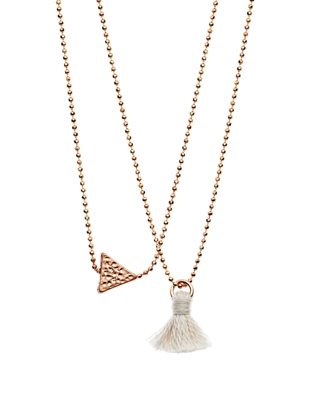Dear Addison Necklace - White