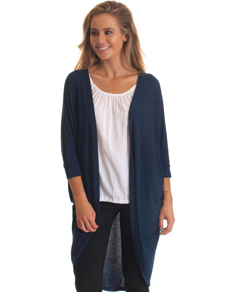 Shrug in Navy