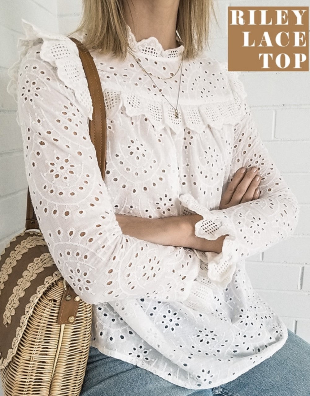 Riley Lace Top
