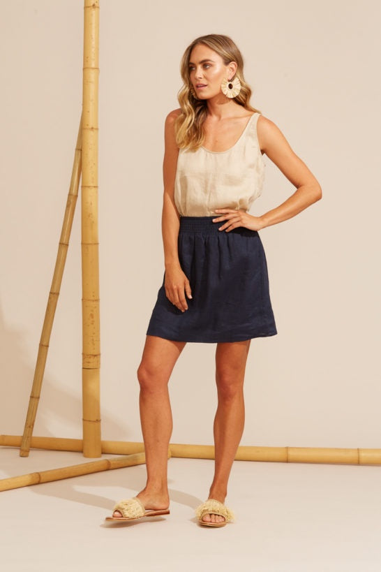 Mini Skirt / Top Navy