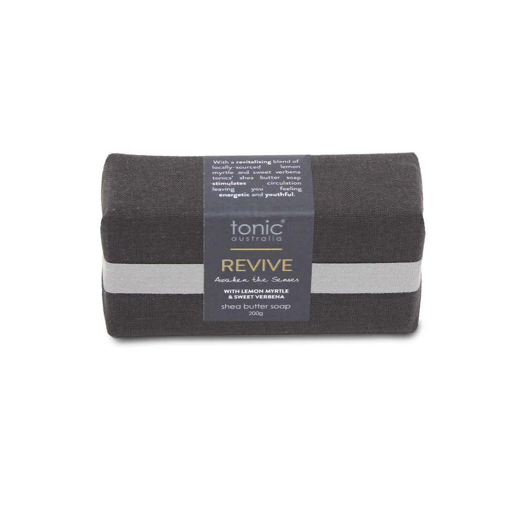 TONIC GOAT'S MILK SOAP 200G CHARCOAL