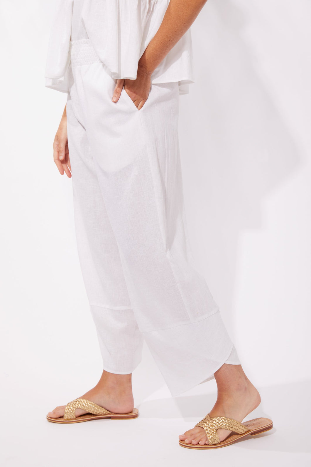 Cuban Pant White