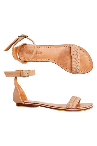 Leather Sandal Tan