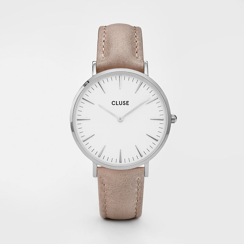 Cluse Hazelnut Leather Watch
