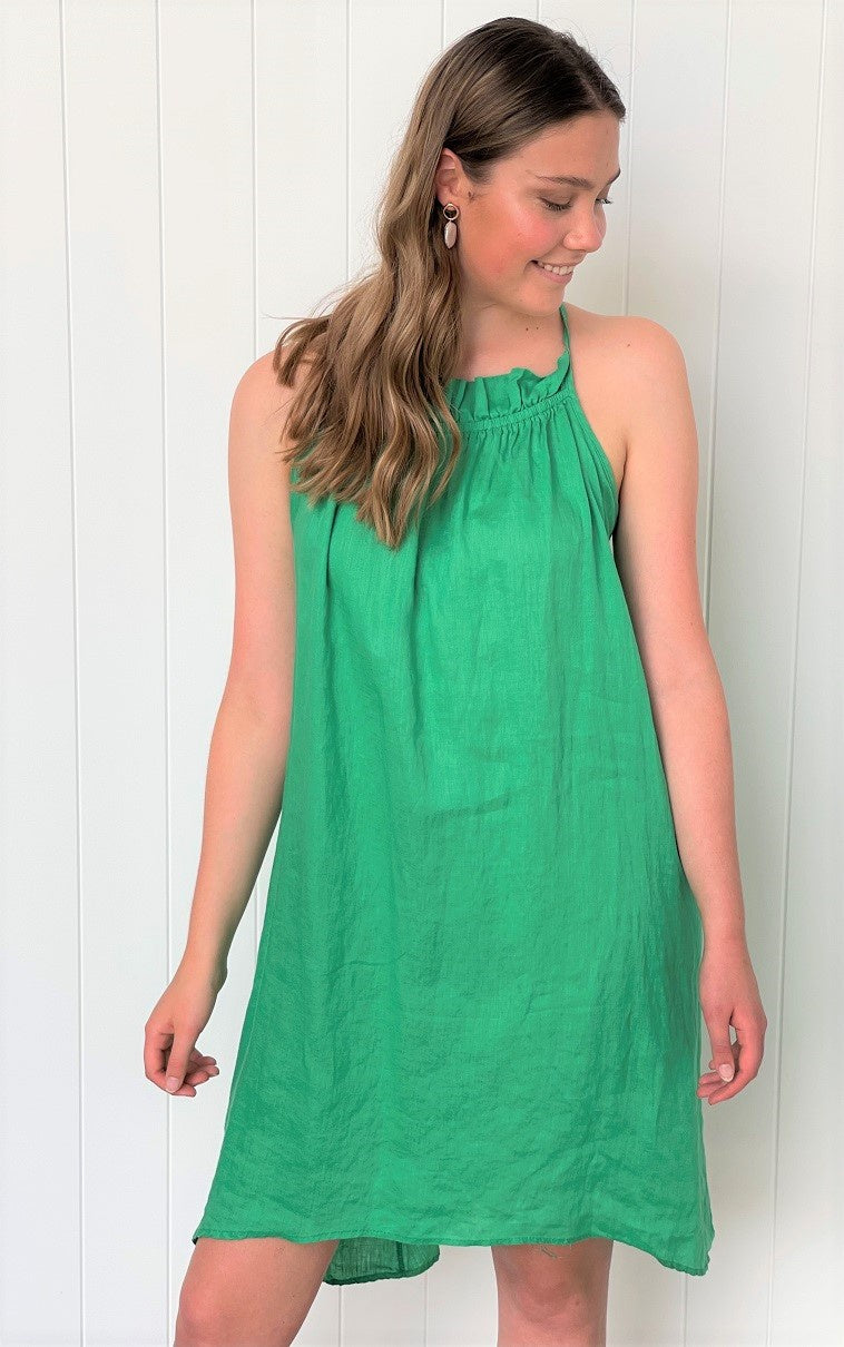 Lucie Dress Green