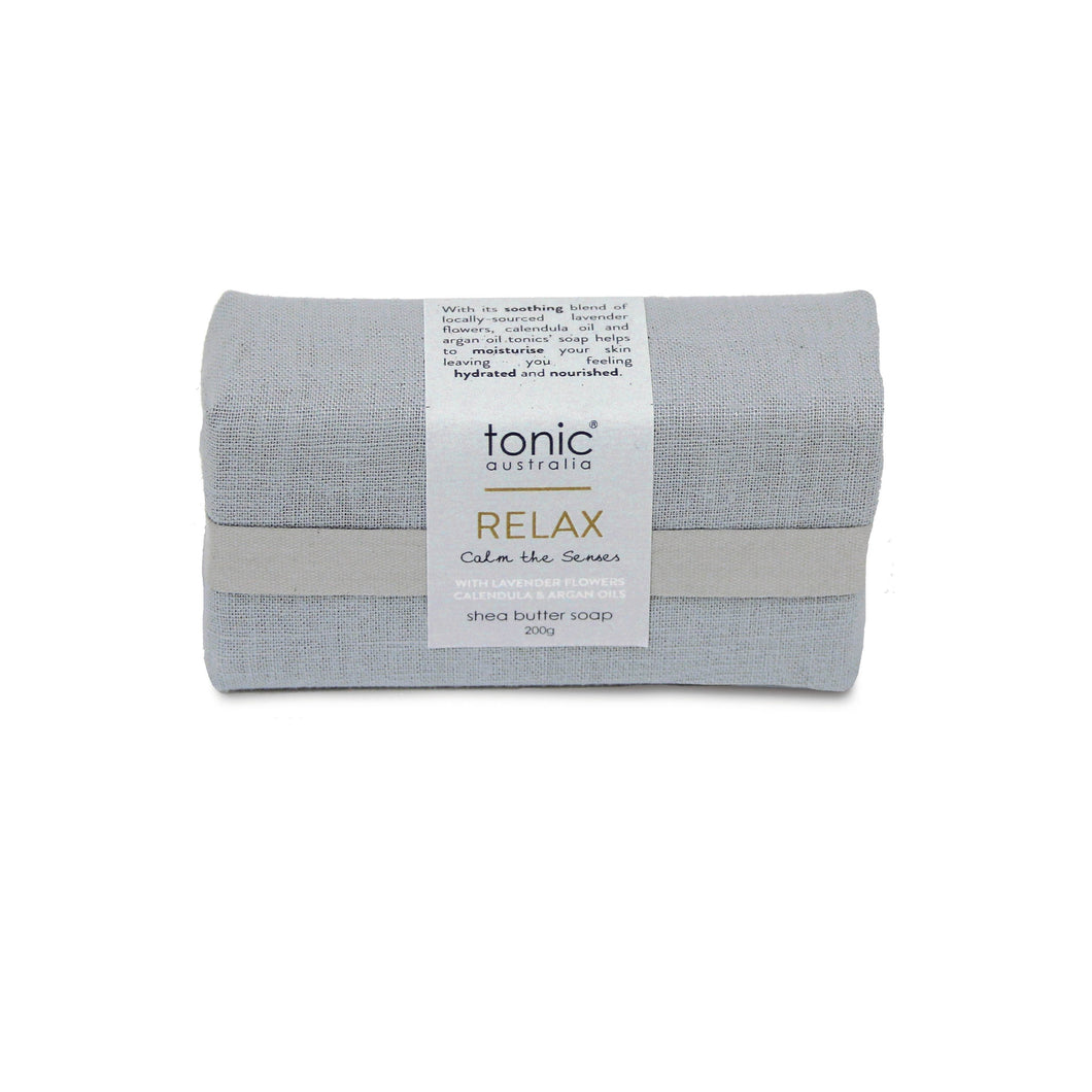 TONIC GOAT'S MILK SOAP 200G GREY