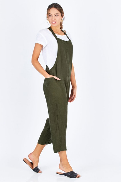 Colmar Overalls Jungle Green