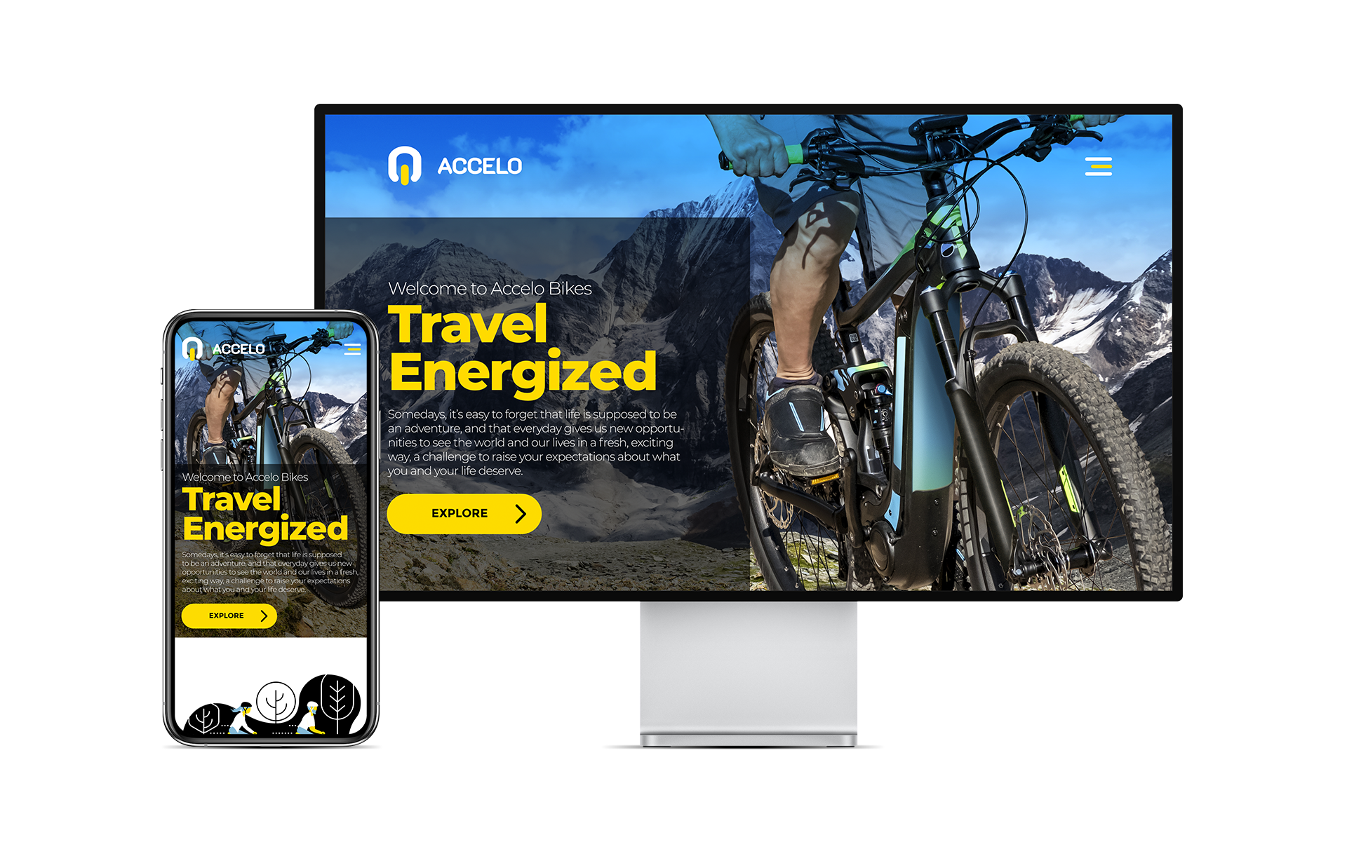 Accelo Bikes Shopify Website Design and Development by Creatibly's Scott Luscombe