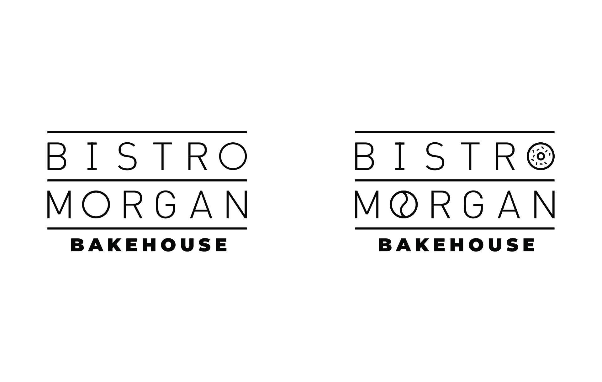 Bistro Morgan Logo Design by Creatibly's Scott Luscombe
