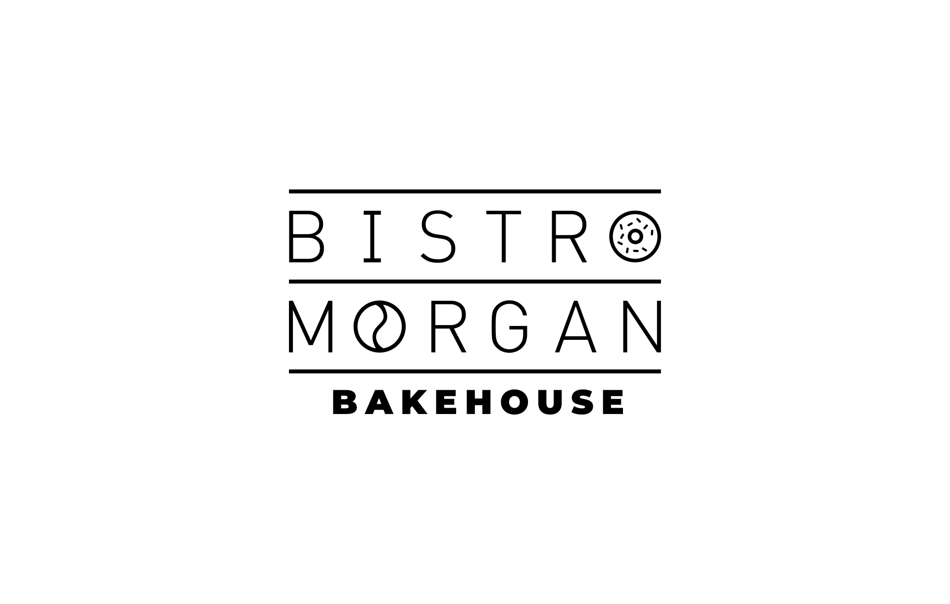 Bistro Morgan Logo Design By Scott Luscombe