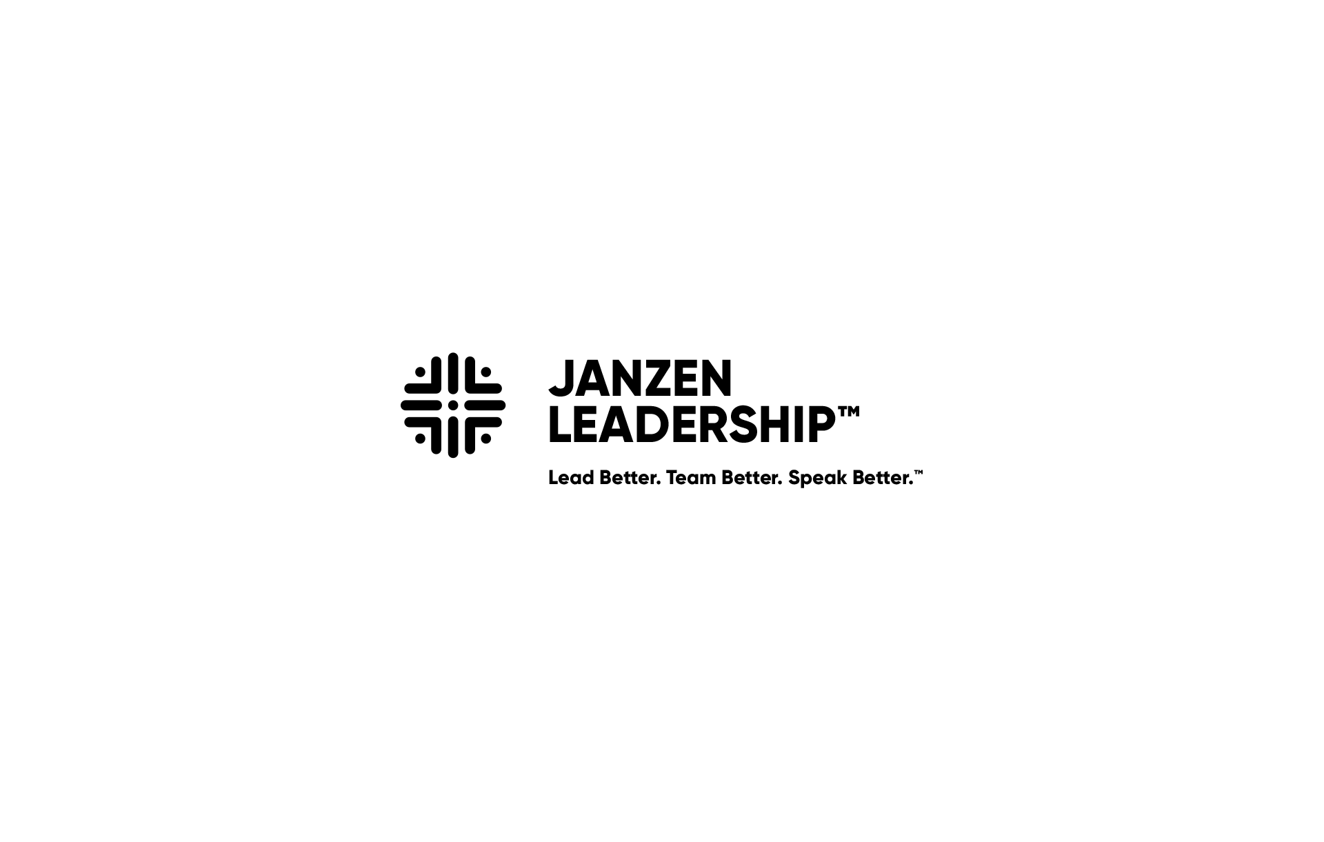 Janzen Leadership Logo Design By Scott Luscombe
