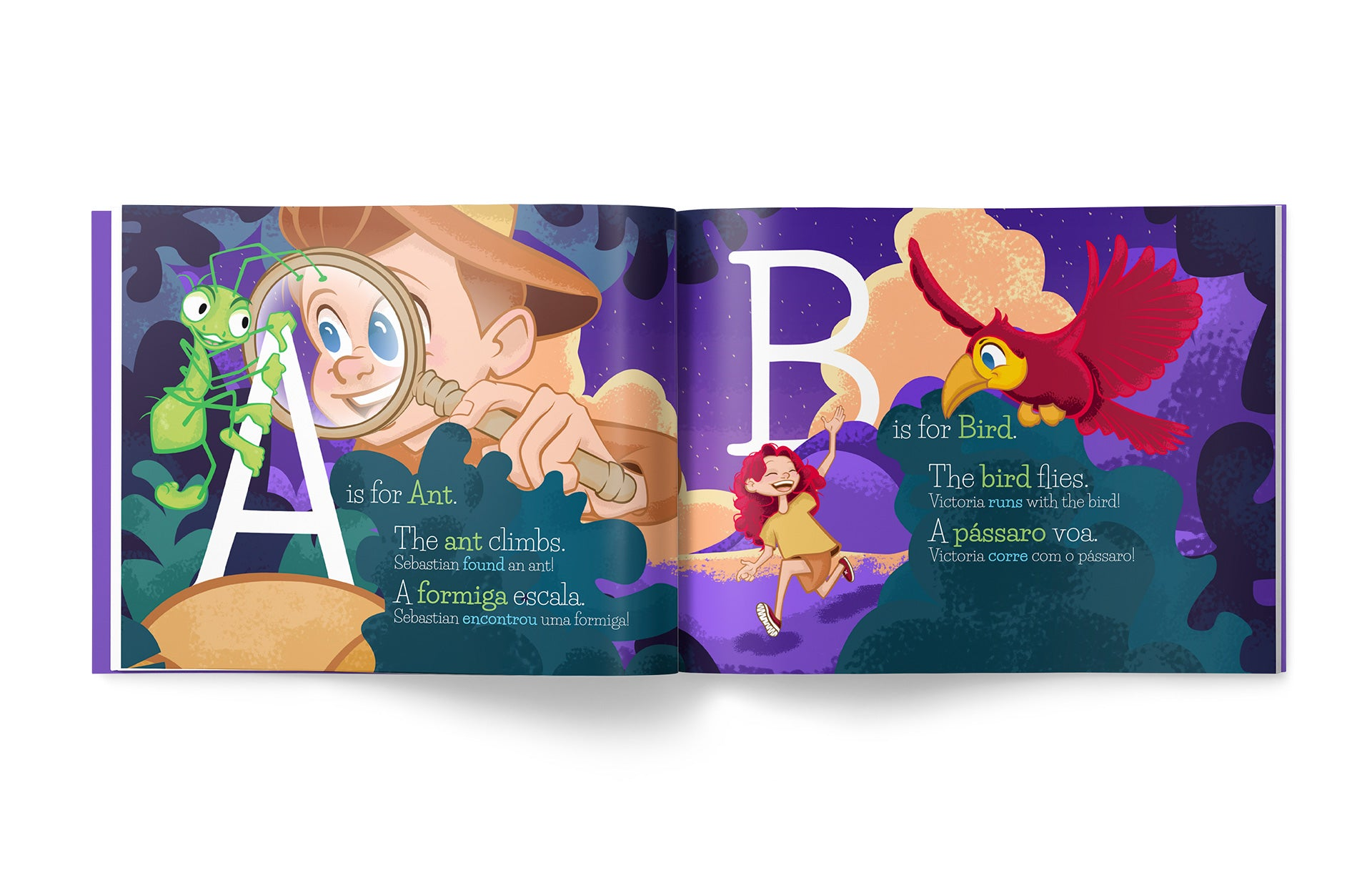 LivoLingo™ Brand Design and Children's Book Design by Scott Luscombe