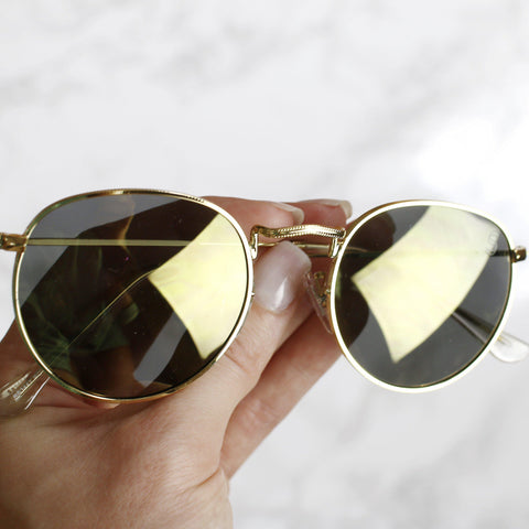 Cancun Shades - Black/ Gold