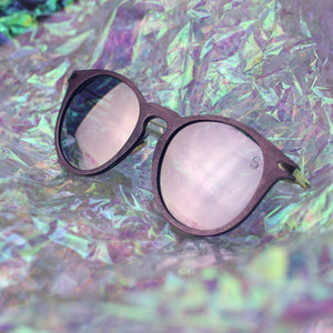 Santorini - Rose, Sunglasses - Sequin Sand