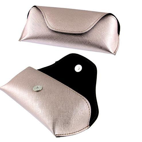 Rose Gold Sunglass Case, sunglass case - Sequin Sand