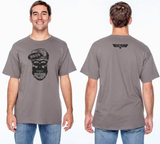 2019 3 GUN SHIRT AND DECAL (SKULL)