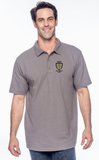 mens polo embroidered logo