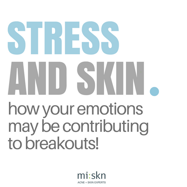 HOW STRESS AFFECTS OUR SKIN