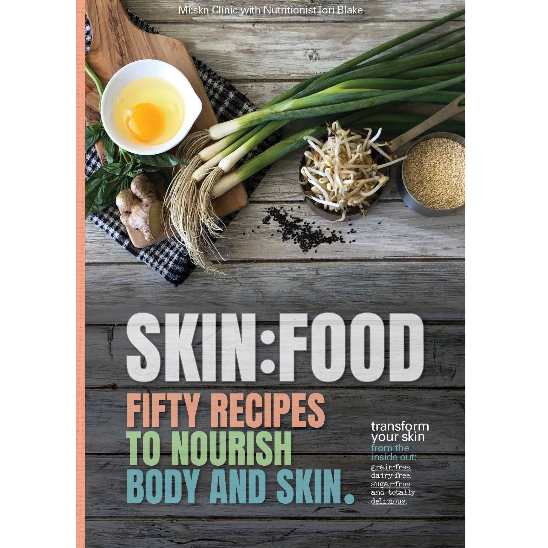 SKIN:FOOD BOOK - PRINT COPY