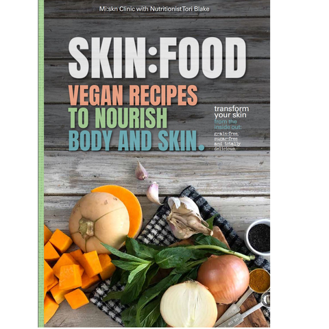 VEGAN SKIN:FOOD BOOK - PRINT COPY