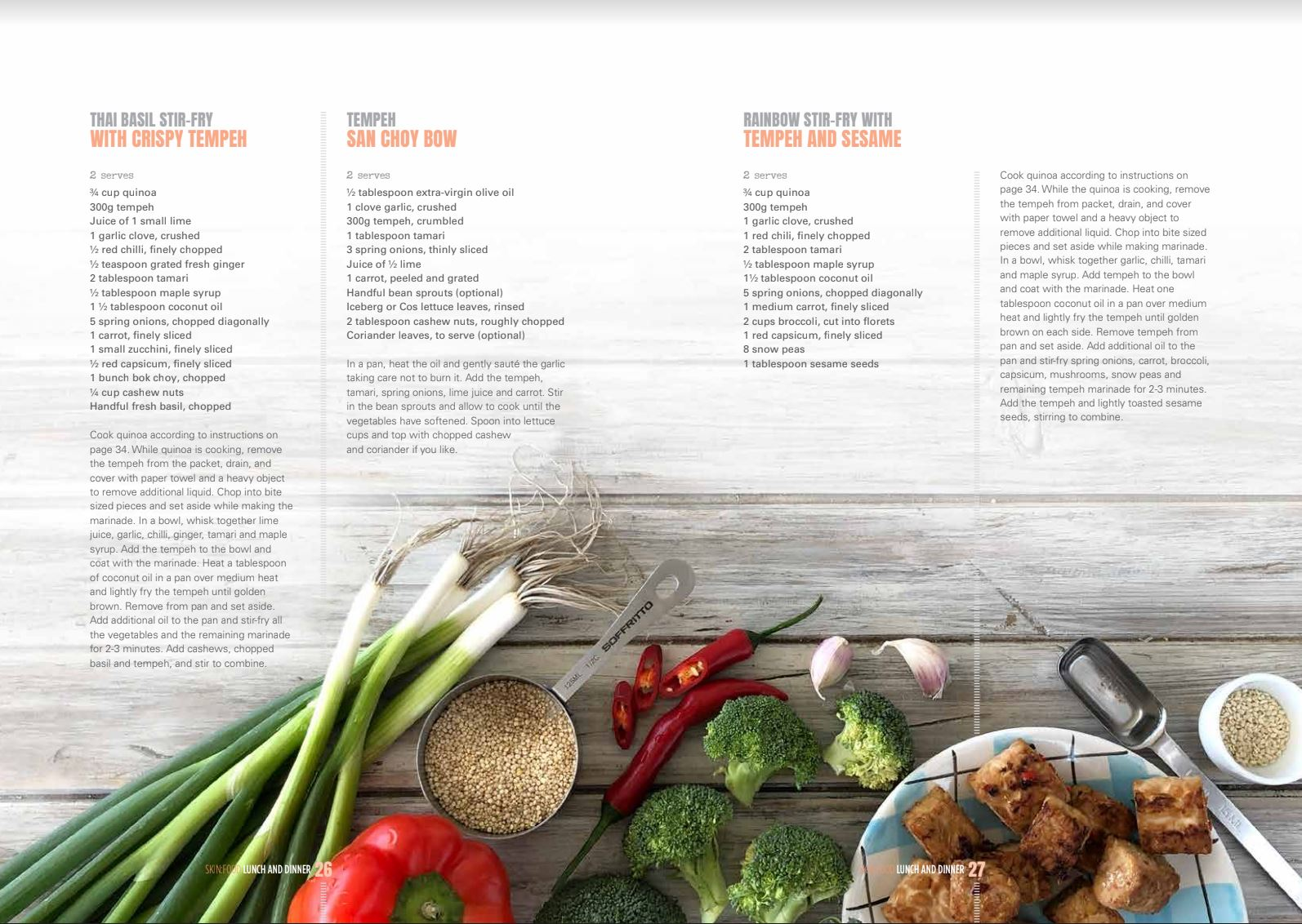 VEGAN SKIN:FOOD BOOK + SIX WEEK SKIN REBOOT PLAN - DOWNLOAD