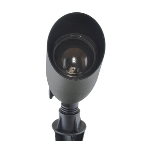 Brushed Black LED Spotlight Fixtures