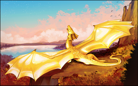 "Chromamancer - ""Bask"" - 14x24 Playmat"