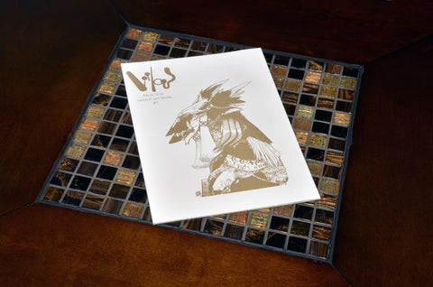 Mick Ono Sketch Art Book #1 - Softcover Limited Edition