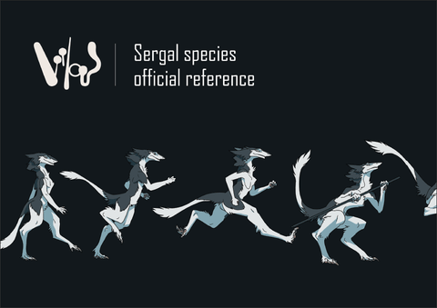 Sergal Anatomy Guide Deluxe eBook + Official Sergal Base!