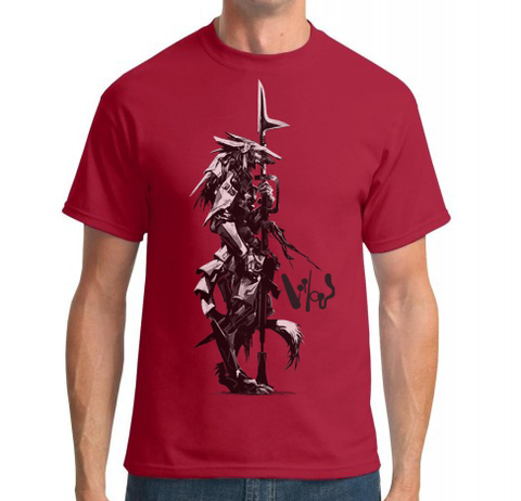 Sergal Soldier Shirt - Red -  - 1
