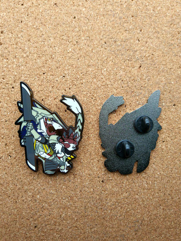 "Rain Silves 2"" Hard Enamel Pin"