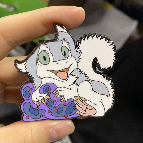 "Fuzzball 2"" Pin"