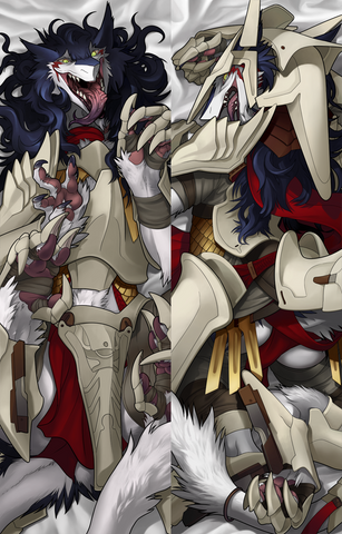 [PRE-ORDER] Rain Silves Dakimakura Cover - Clean Armored -  - 1