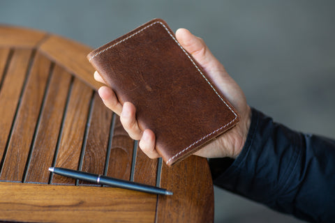 Classic Mini Leather Journal