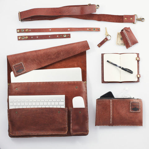 The All You Need Kit in Rustic Cognac | 15""
