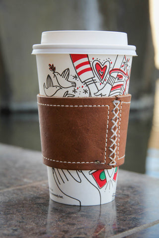 Cup Sleeve | Leather