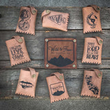 Etched Art Wallets