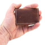 Leather Verse Card Holder