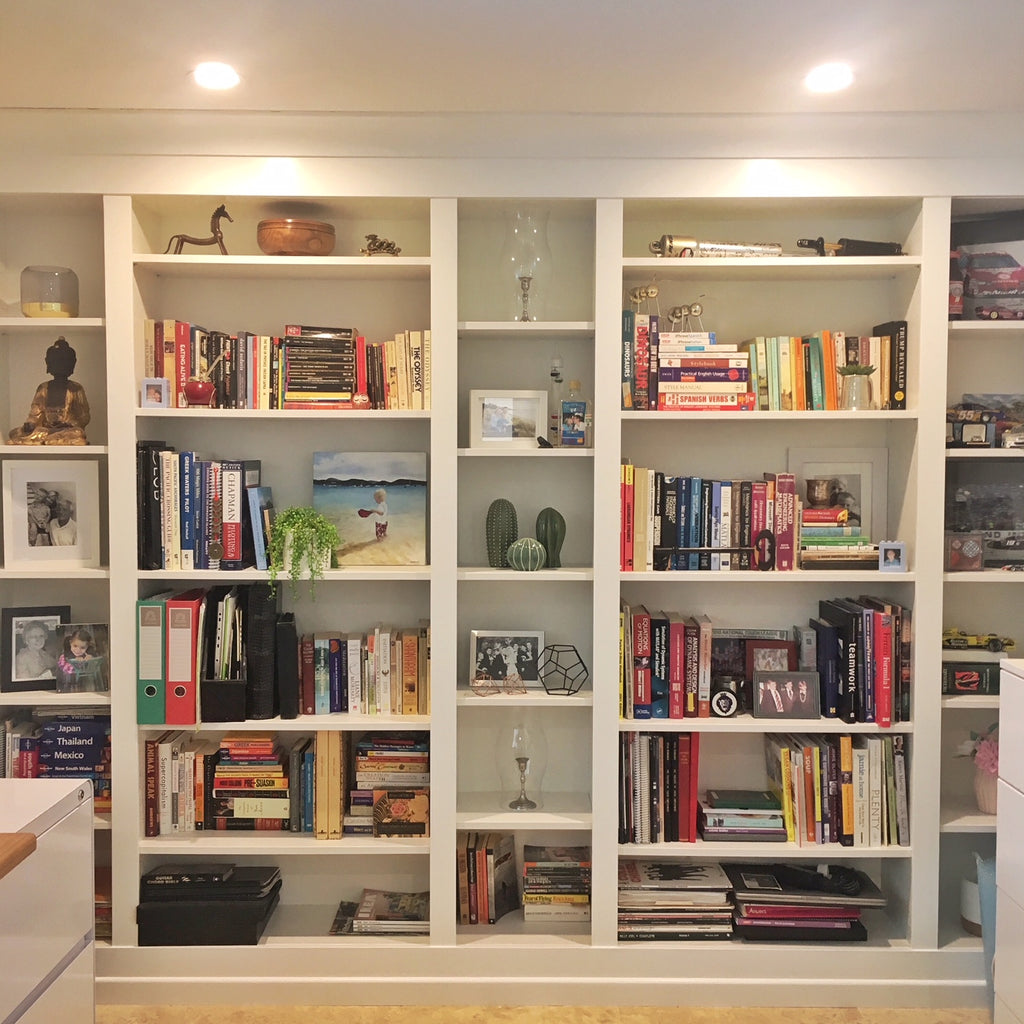 DIY Project: Built-in IKEA BILLY Bookcase