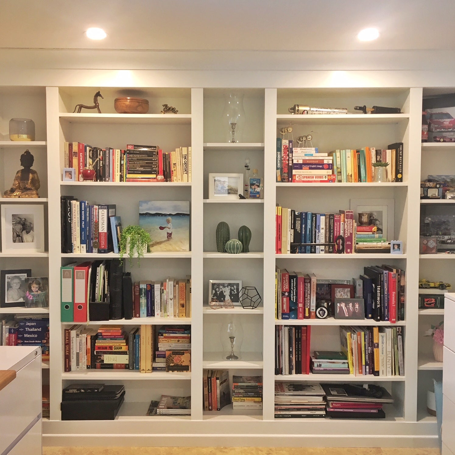 buy popular 4abc7 f0b55 DIY Project: Built-in IKEA BILLY Bookcase – Lux Hax