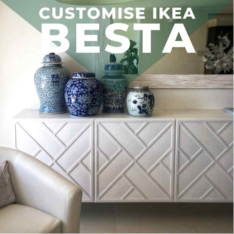 Customise IKEA Besta furniture