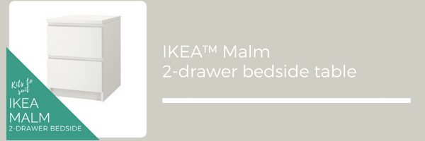 Styl-Panels to suit IKEA Malm bedside table